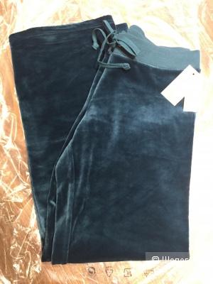 JUICY COUTURE брюки из люксового велюра р.L