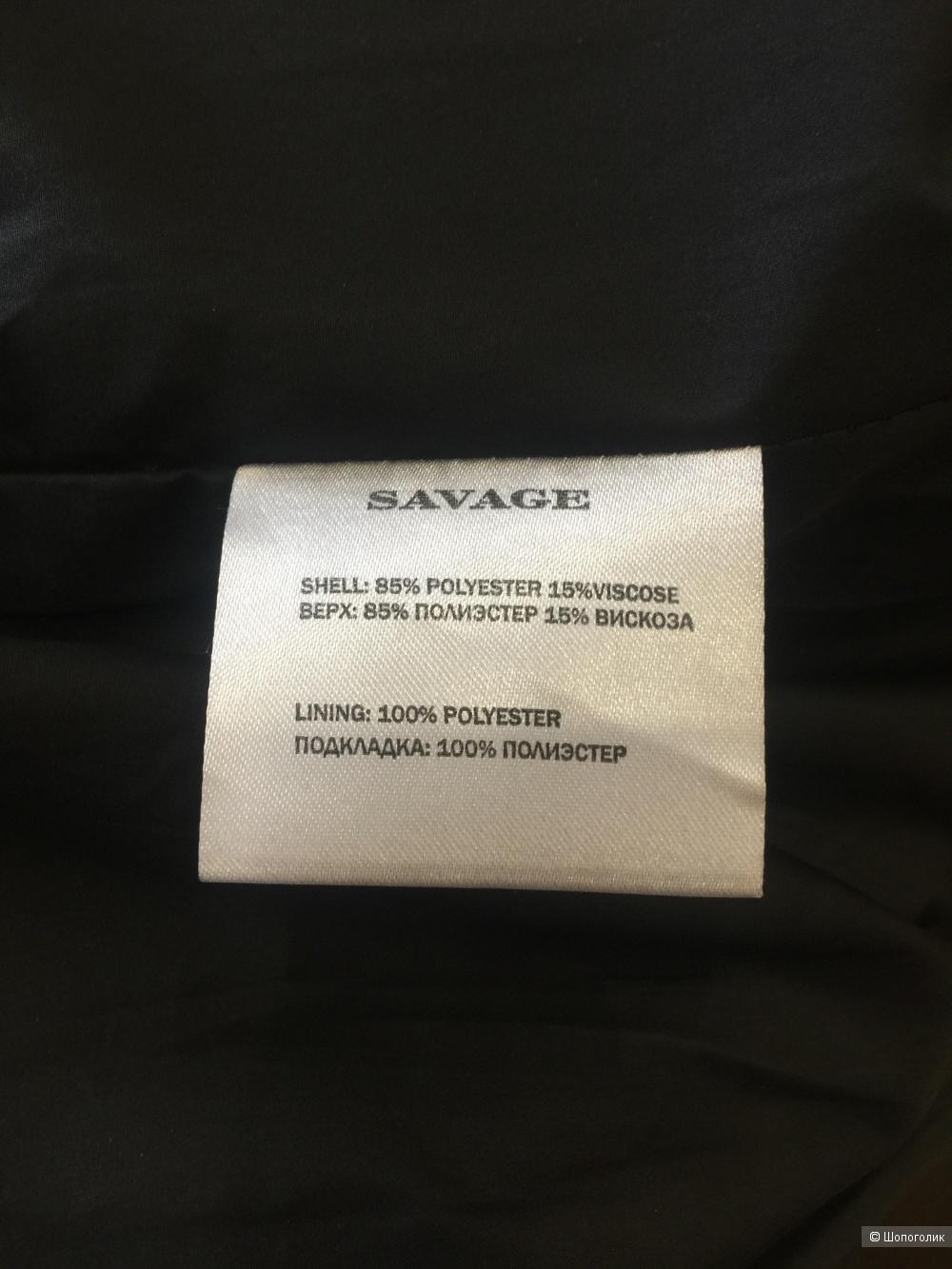 Пальто Бренд SAVAGE размер 46 M