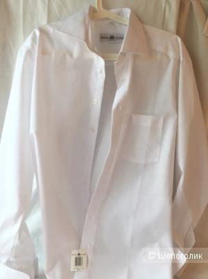 Мужская рубашка под запонки Royal Class, 50-52 (XL)