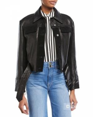 Кожаная куртка Frame размер L