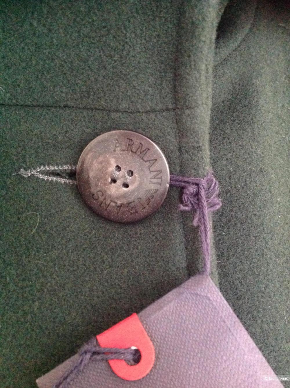 Шерстяное пальто Armani, размер 46it, на 46-48-50