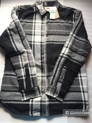 Levi's теплая рубашка-куртка р.L