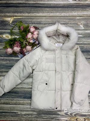 Куртка с мехом WHITE FUR, 42/44/46/48