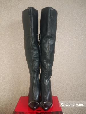 Кожаные сапоги Melani, размер 37