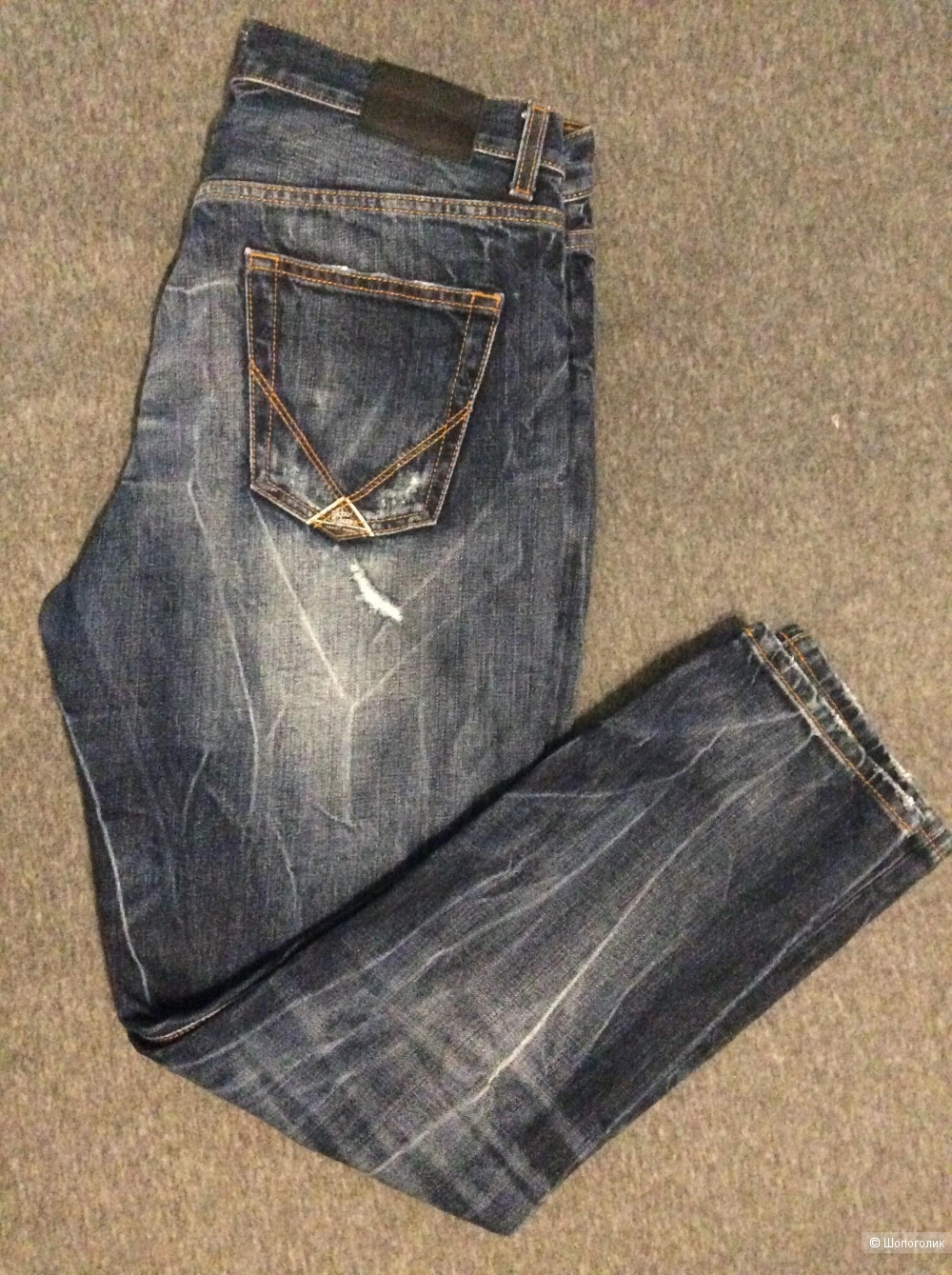 ROŸ ROGER'S Джинсовые брюки, размер 30