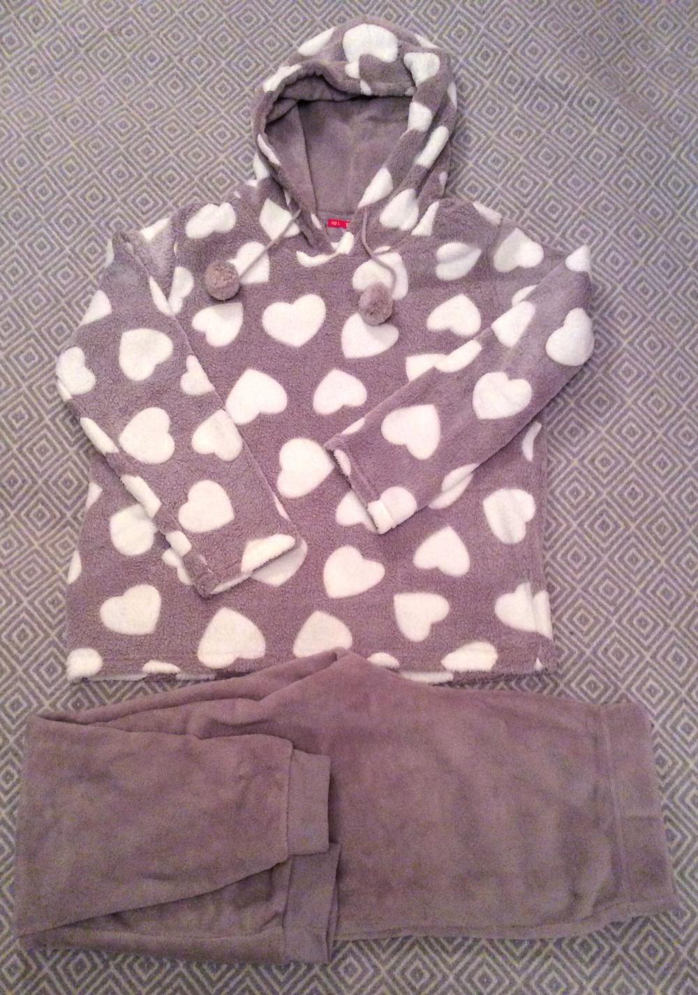 Флисовая пижама с капюшоном, ТВОЁ. Размер L (46-48)
