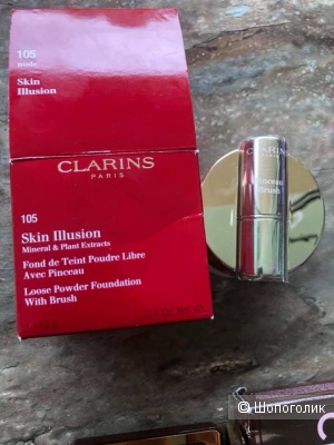 Пудра новая Clarins Skin Illusion 105