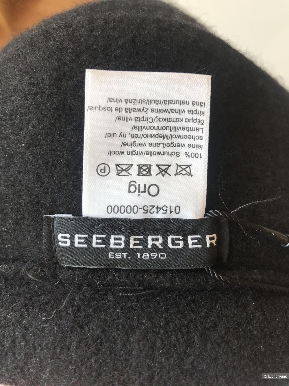 """Шапка """"Seeberger""""."""