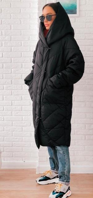 Пальто-одеяло  Moon snow cat,  размер m  ( оверсайз xs-m)
