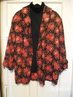Винтажный пиджак, No name, 52 размер