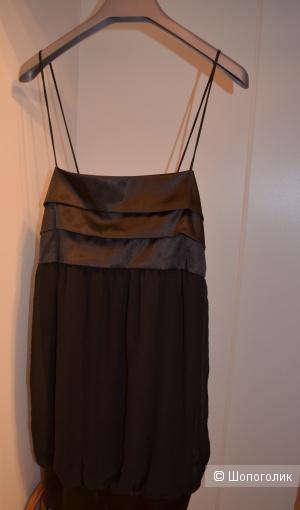 Вечернее Платье бренда zara basic размер xl