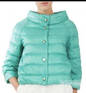 Куртка как Легкий пуховик Elisabetta Franchi (Celyn b) на 42-44