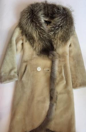Меховое пальто Roberto Ferretti, 40-44 размер