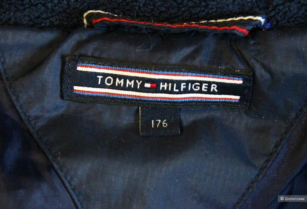 Пуховик Tommy Hilfiger на 14-16 лет, рост 176