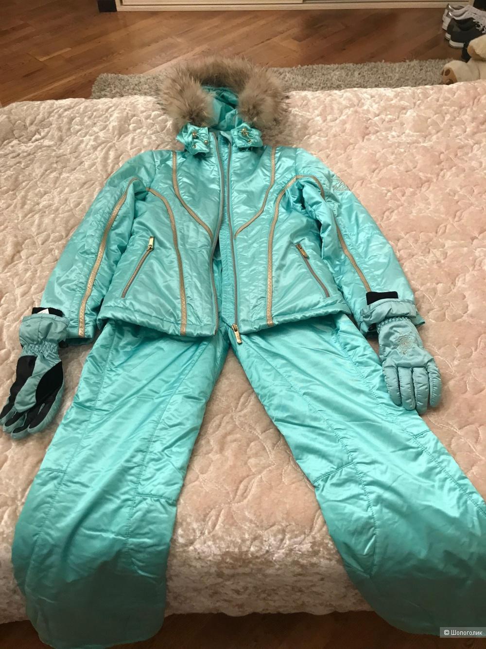 Горнолыжный костюм детский рост 140 производство Китай фабричный.