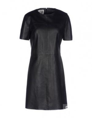 Кожаное платье 8 BY YOOX, размер L, на рос. 46-48