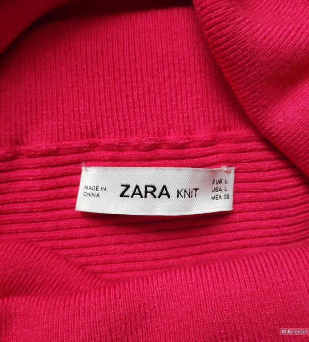 Свитер Zara knit. Маркировка L/ 42-44-46-48 рус.