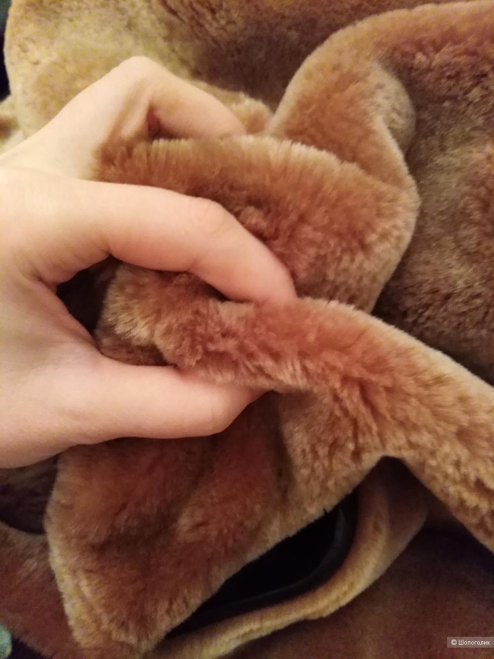 Шуба-пальто меховое 48р Метелица