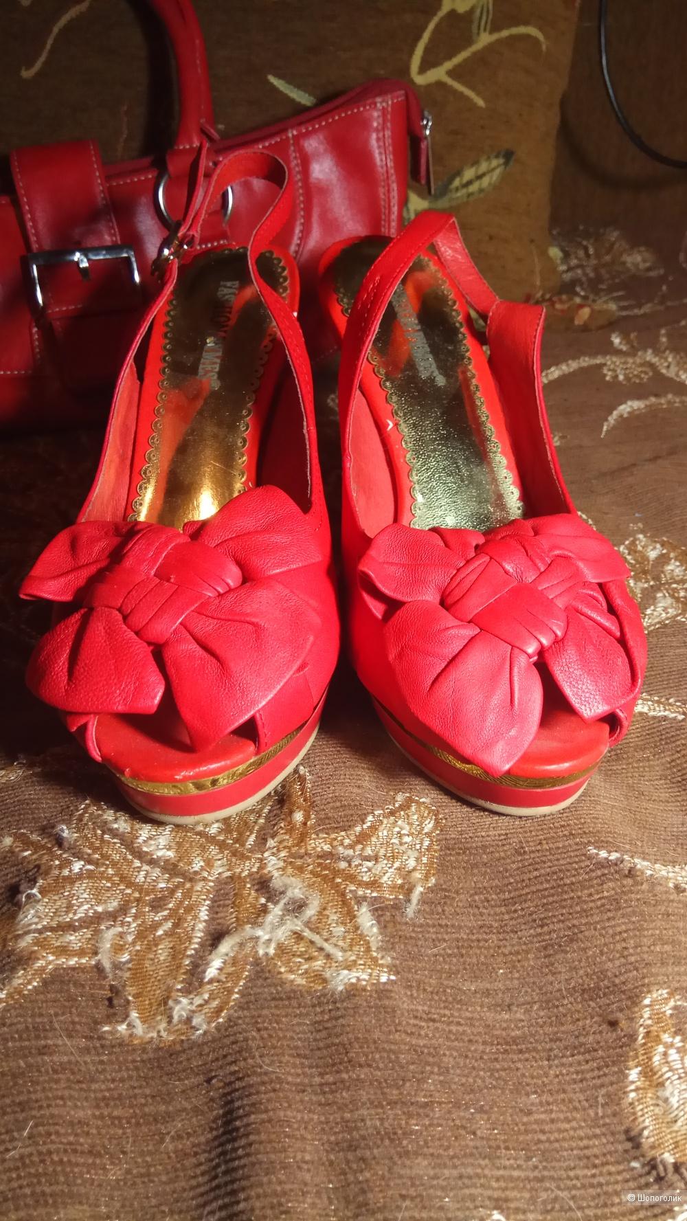 Сумка и туфли комплектом