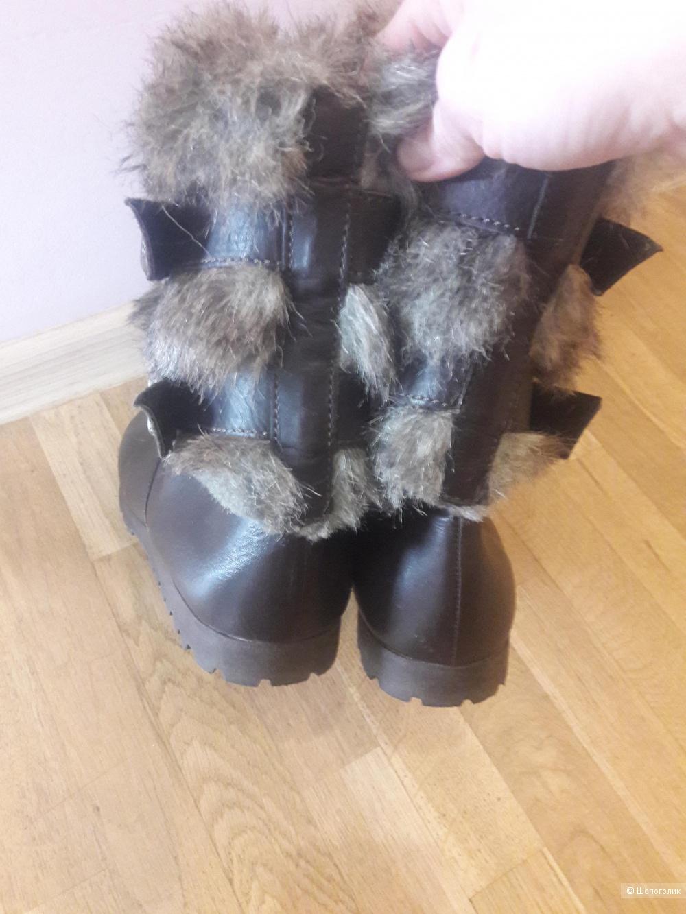 Кожаные ботинки Miss Sixty 40-41 размера