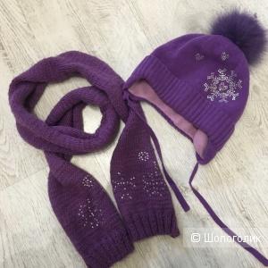 Комплект шапка шарф 80:20, 54