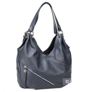 Женская сумка из натуральной кожи Alessandro Birutti  выполнена из натуральной кожи. Размер 33×20×22 см.