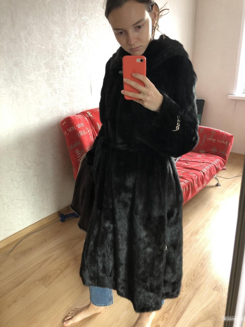 Норковая шуба Yolanda, размер S-M