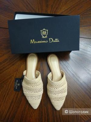 Мюли Massimo dutti 35 и 36 размер