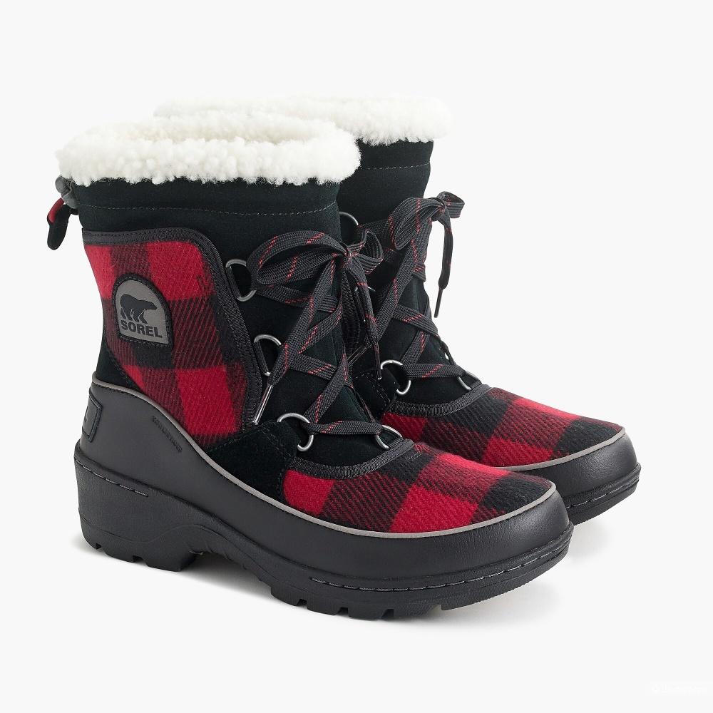 Ботинки Sorel Tivoli III x J Crew р-р 9US (39,5-40)