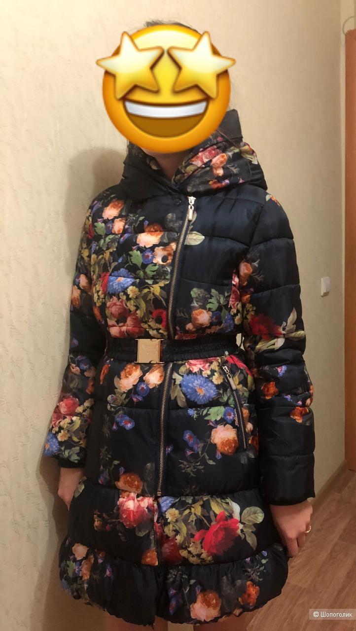 Пальто-пуховик. Рост145-155