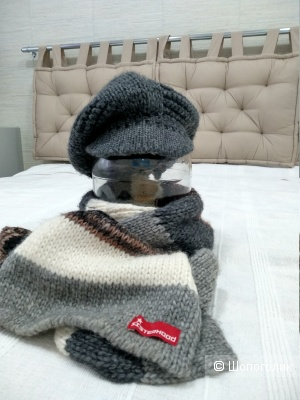 Сет кепка MissSixty и шарф Sisterhood размер S