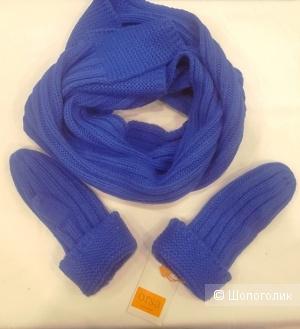 Комплект Orsa  шарф и варежки