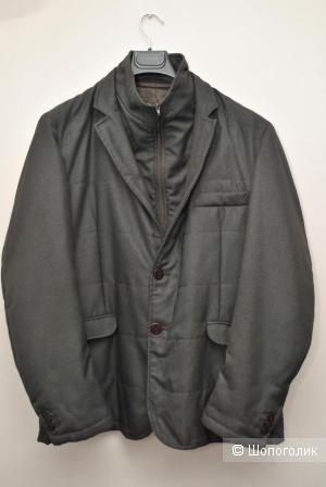 Утепленный пиджак-куртка roberto pepe 52It