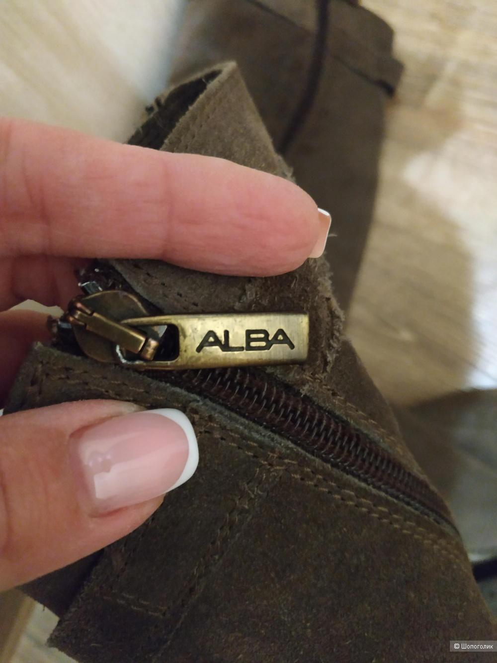 Сапоги замшевые Alba, 39
