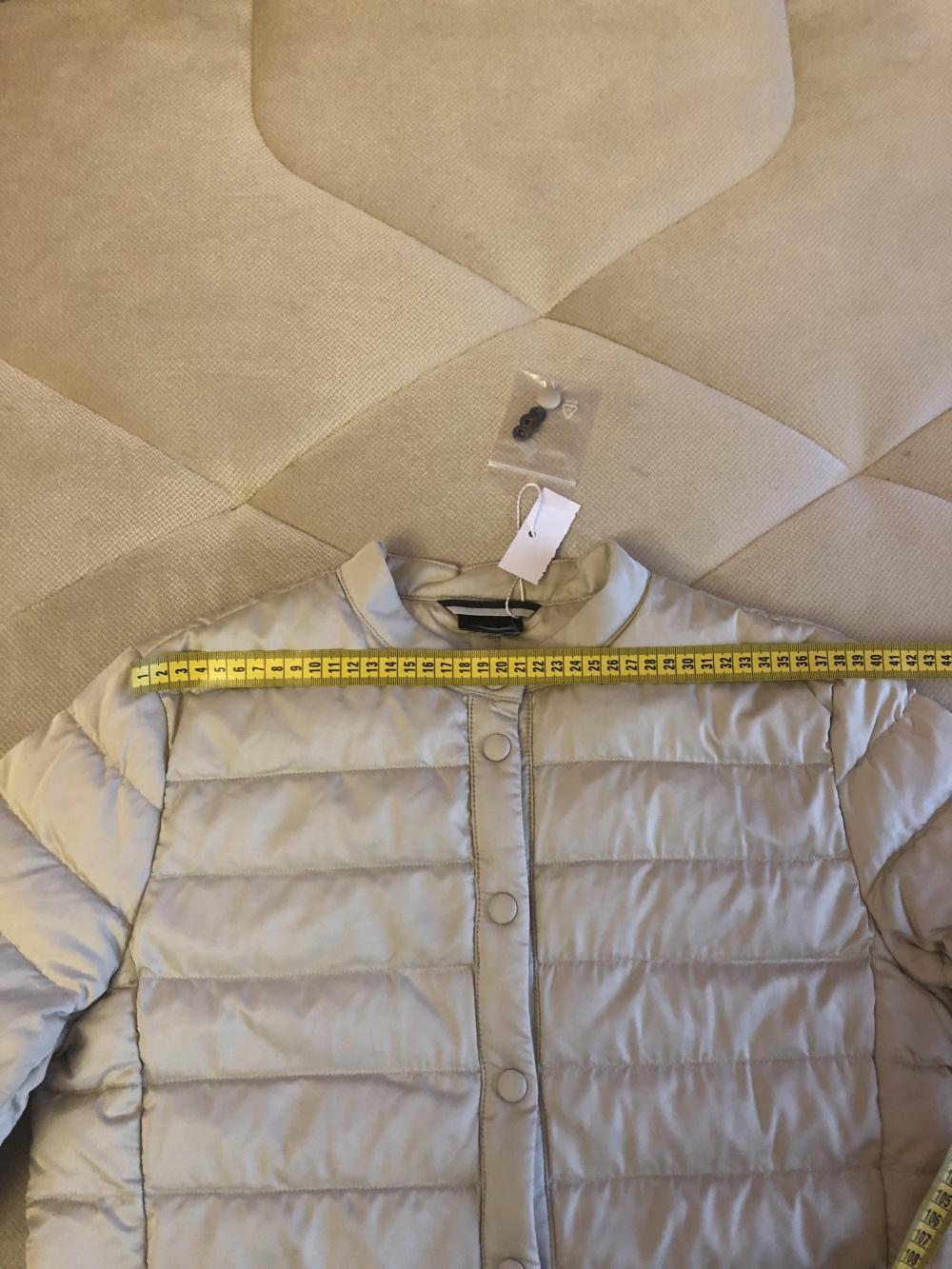 Лёгкий тонкий пуховик Max Mara Weekend, размер 40 итальянский
