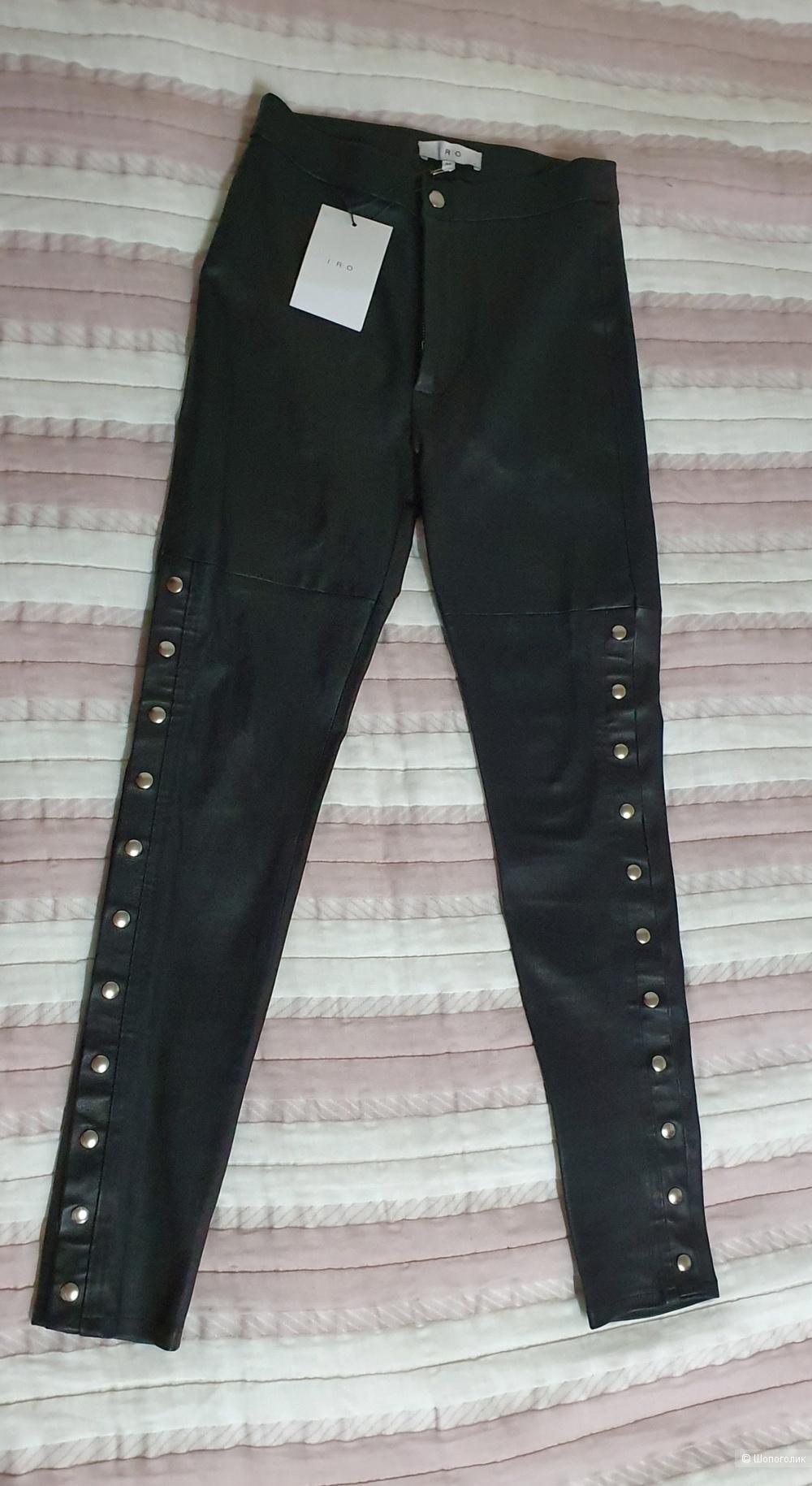 Кожаные брюки IRO 34fr (40-42)