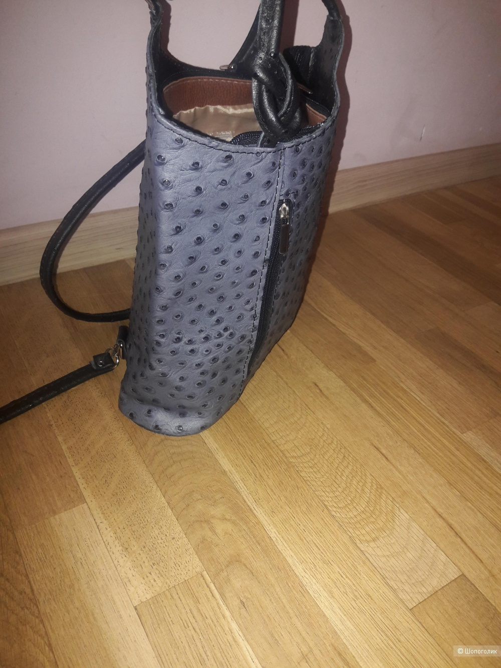 Кожаная сумка-трансформер Borse di Pelle