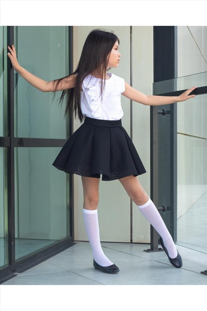 Юбка школьная TM Barbarris, размер 134