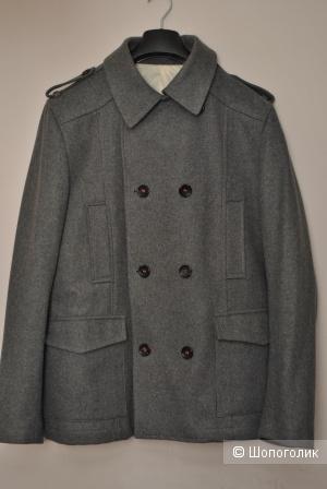 Шерстяное двубортные пальто manuel ritz 54It