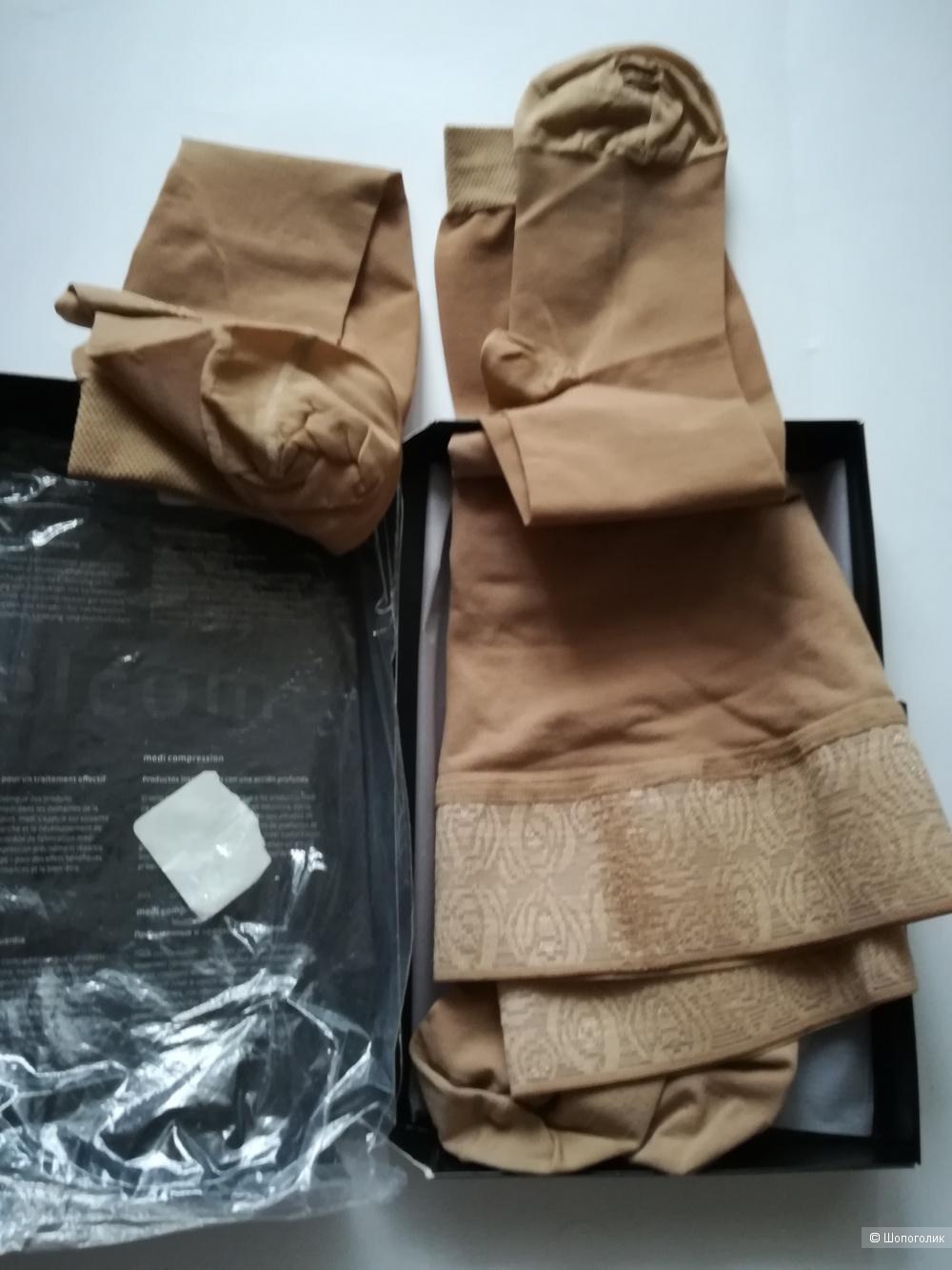 Чулки +гольфы компрессионные mediven elegance venotex,размер 42-46