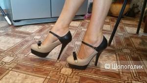 Кожаные туфли Molared 38 р