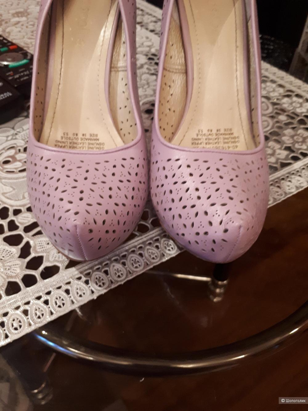 Кожаные туфли Mascotte 38 р