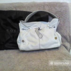 Белая сумка Сoccinelle