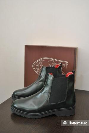 Кожаные высокие ботинки hecon 42It-27см