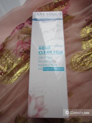 Sans Soucis Aqua Clear Skin 24 care – Крем 24 часа для проблемной жирной кожи с экстрактом магнолии, 40 мл