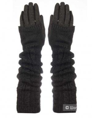 Перчатки со съемными митенками размер универсальный