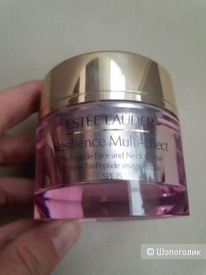 Estée Lauder Resilience Multi-Effect Tri-Peptide Face and Neck Crème SPF 15 Дневной лифтинговый крем 50 мл.