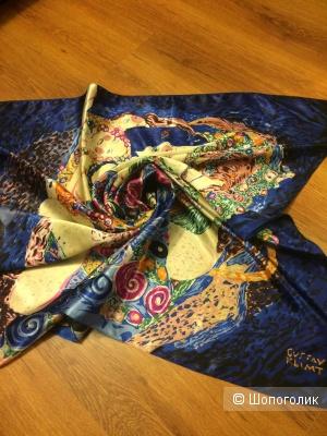 Шелковый платок 84х86 Ashma (по картине Густава Климта)