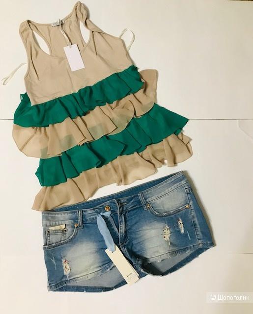 Комплект шорты Pinko+ Топ - размер 46