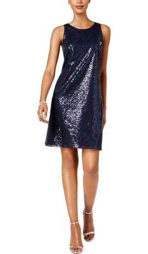 Платье с пайетками MSK, размер М (46+/48)